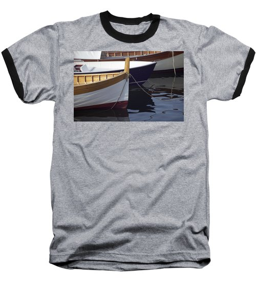 Burgundy Boat Baseball T-Shirt