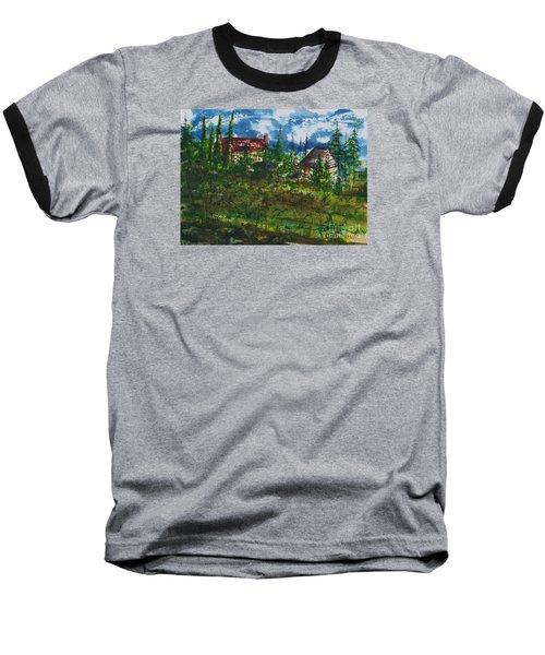 Burgundy In The Morning  Baseball T-Shirt