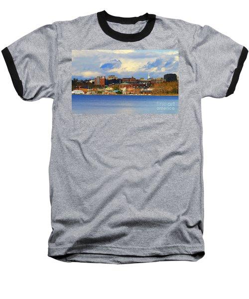 Burlington Vermont Lakefront Baseball T-Shirt