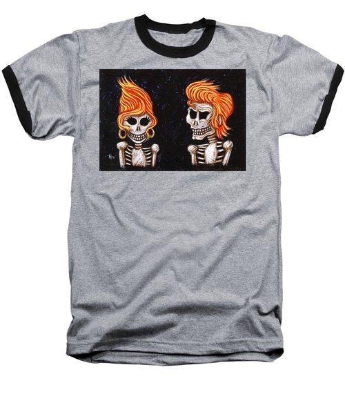 Burnin' Love 4 Ever Baseball T-Shirt by Holly Wood