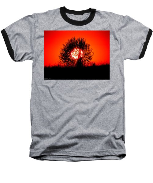 Burning Bush Baseball T-Shirt