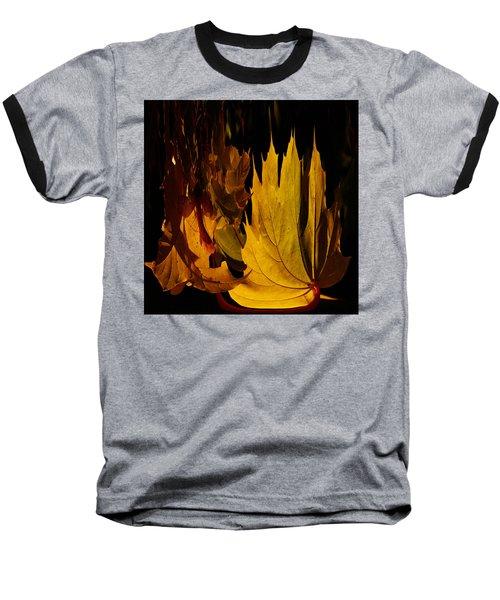 Burning Fall Baseball T-Shirt