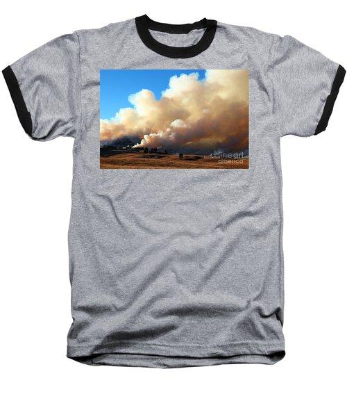Burning In The Black Hills Baseball T-Shirt