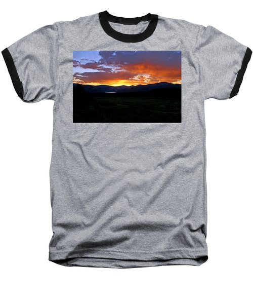 Baseball T-Shirt featuring the photograph Burning Of Uncertainty by Jeremy Rhoades