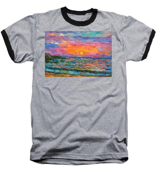 Burning Shore Baseball T-Shirt
