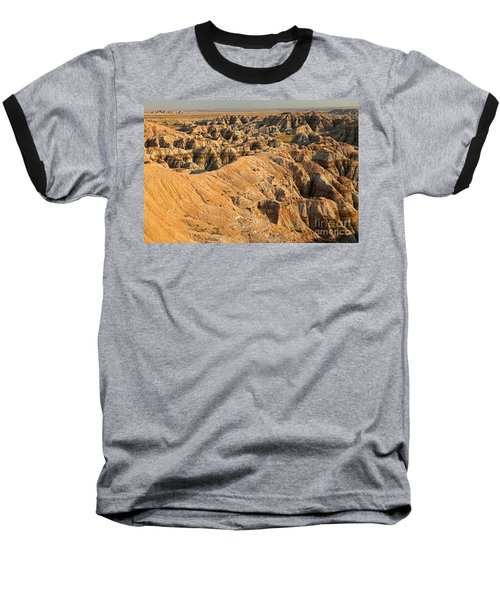 Burns Basin Overlook Badlands National Park Baseball T-Shirt