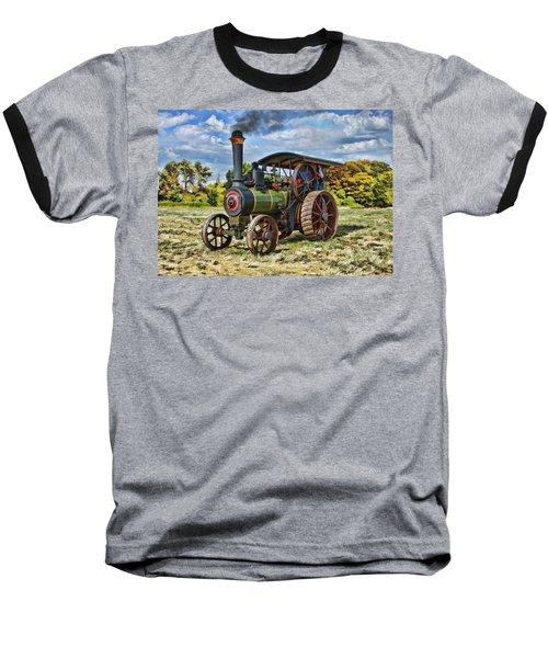 Burrell Steam Engine  Baseball T-Shirt