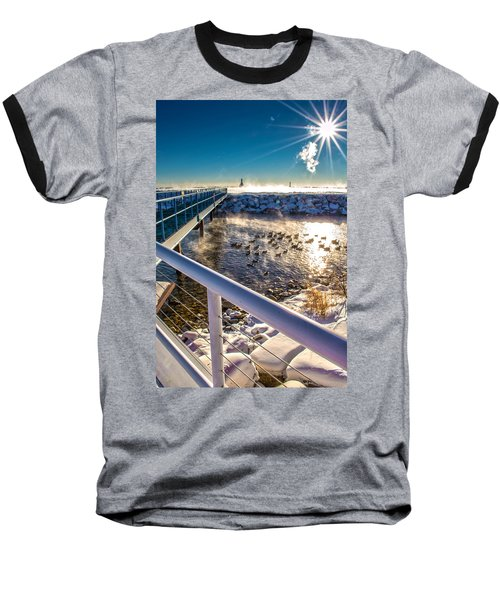 Burst Of Life Baseball T-Shirt