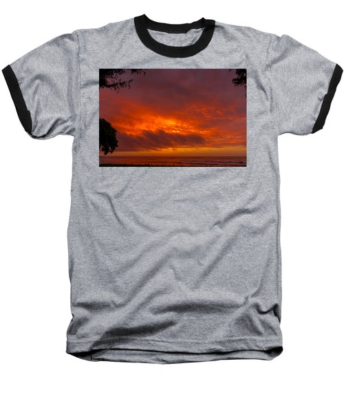 Bursting Sky Baseball T-Shirt