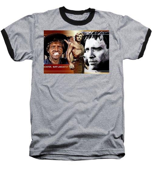 Baseball T-Shirt featuring the digital art Burt by Hartmut Jager