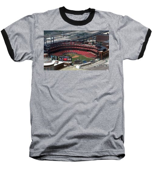 Busch Memorial Stadium Baseball T-Shirt by Thomas Woolworth
