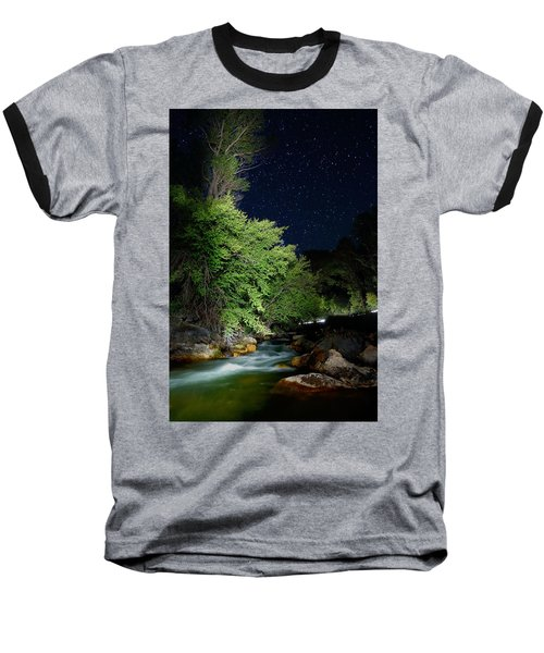 Baseball T-Shirt featuring the photograph Busy Night by David Andersen