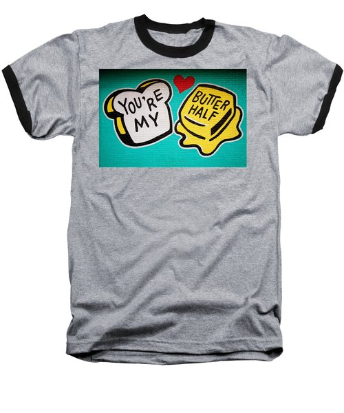 Butter Half Baseball T-Shirt
