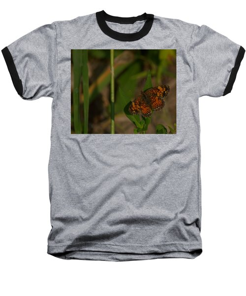 Butterfly 10 Baseball T-Shirt