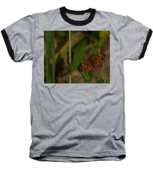 Butterfly 10 Baseball T-Shirt