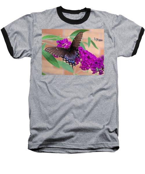 Butterfly And Friend Baseball T-Shirt