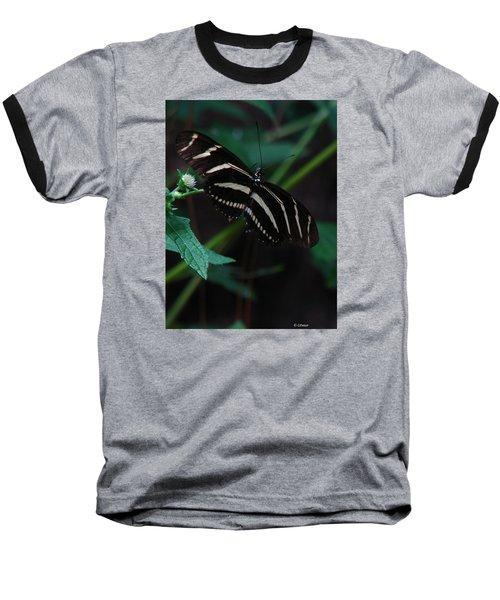 Butterfly Art 2 Baseball T-Shirt