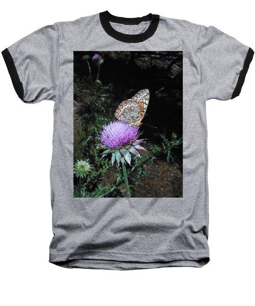 Butterfly At Peace Baseball T-Shirt