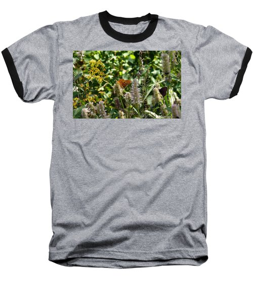 Butterfly Buffet Baseball T-Shirt