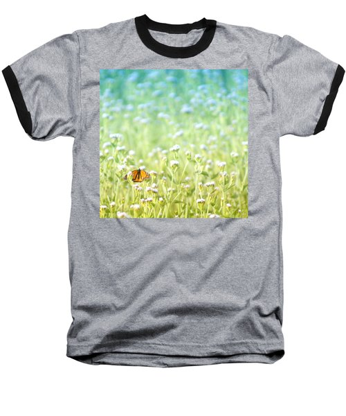 Butterfly Dreams Baseball T-Shirt