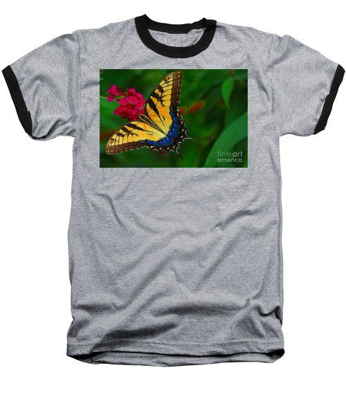 Baseball T-Shirt featuring the photograph Butterfly by Geraldine DeBoer