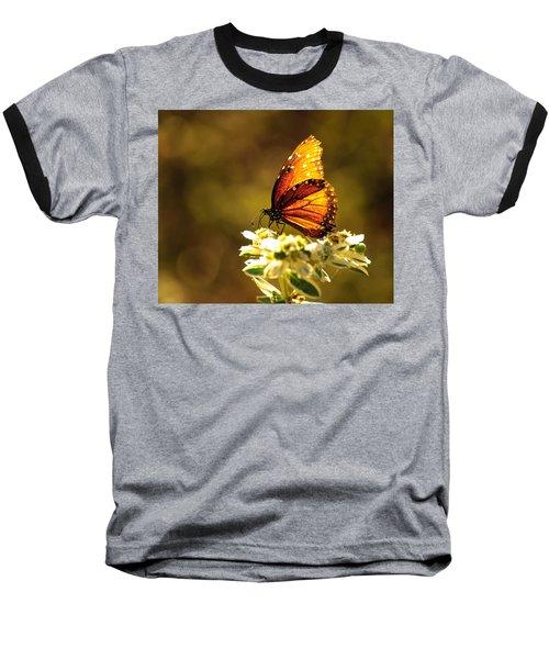 Butterfly In Sun Baseball T-Shirt