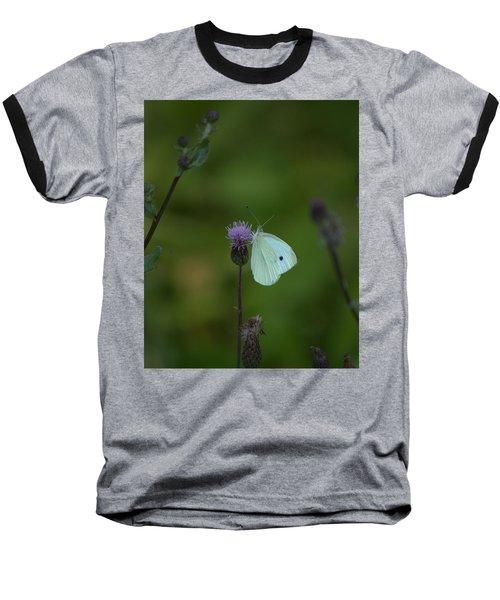 Butterfly In White 2 Baseball T-Shirt