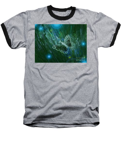 Butterfly Magic By Jrr Baseball T-Shirt