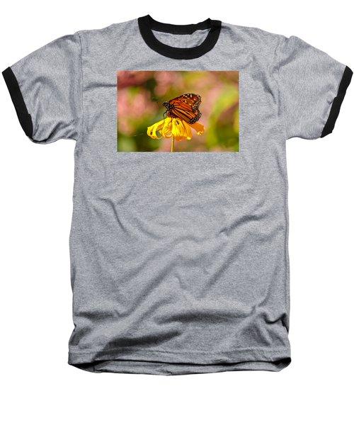 Butterfly Monet Baseball T-Shirt