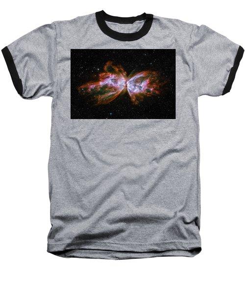 Butterfly Nebula Ngc6302 Baseball T-Shirt