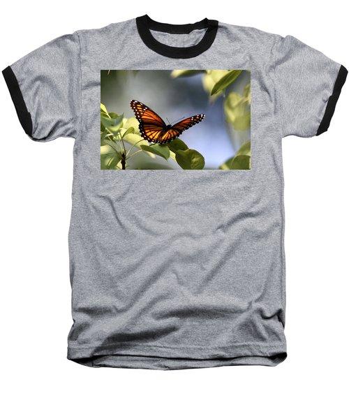 Butterfly -  Soaking Up The Sun Baseball T-Shirt