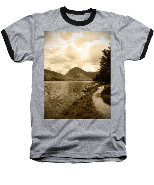 Buttermere Bright Sky Baseball T-Shirt by Kathy Spall