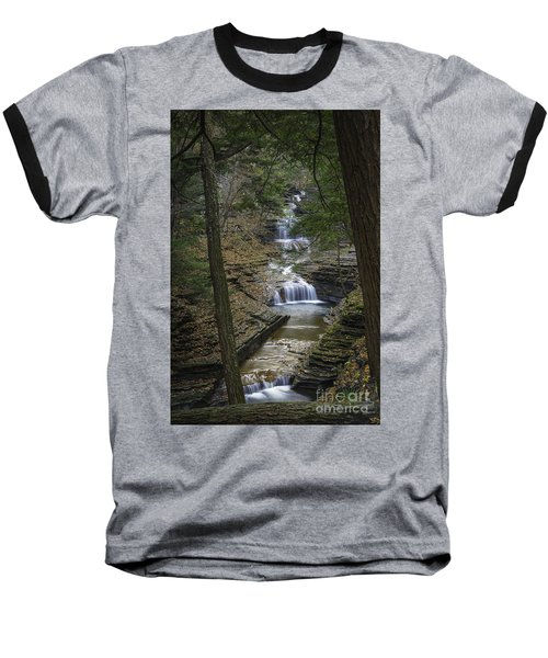 Buttermilk Falls In Autumn IIi Baseball T-Shirt