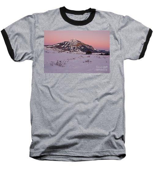 Butte's Winter Glow Baseball T-Shirt
