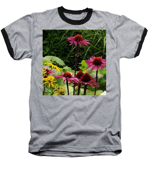 Baseball T-Shirt featuring the photograph Button Up by Natalie Ortiz