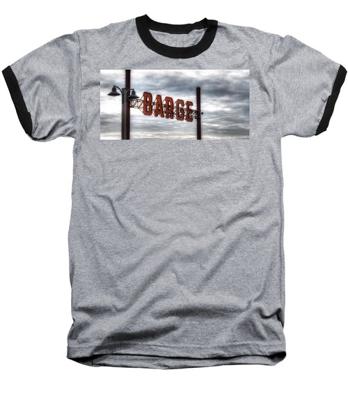 by The Barge Baseball T-Shirt