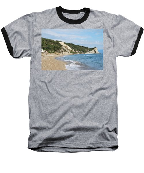 Baseball T-Shirt featuring the photograph By The Beach by George Katechis