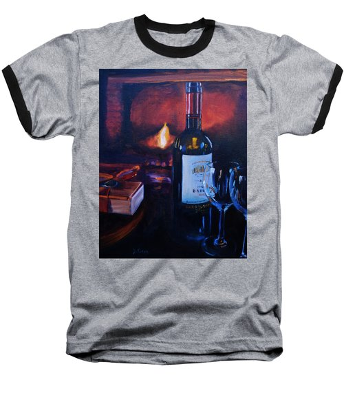 By The Fire Baseball T-Shirt