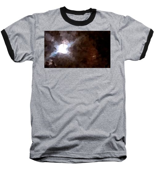By The Moonlight Baseball T-Shirt by Paulo Guimaraes