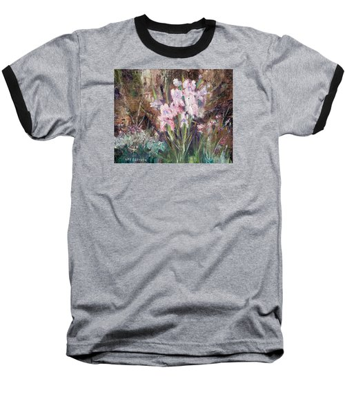 By The Side Of The Road Baseball T-Shirt by Lee Beuther
