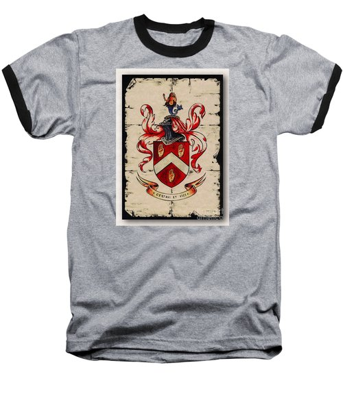 Byrne Coat Of Arms Baseball T-Shirt