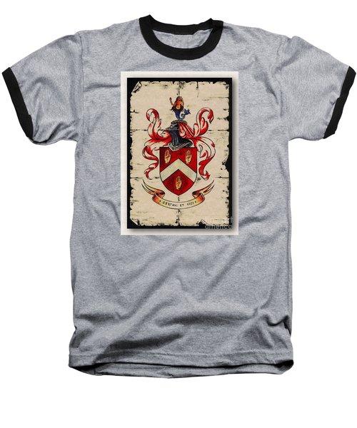 Byrne Coat Of Arms Baseball T-Shirt