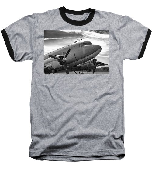 C-47 Skytrain Baseball T-Shirt