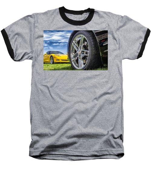 C Sixes Baseball T-Shirt by Gary Warnimont