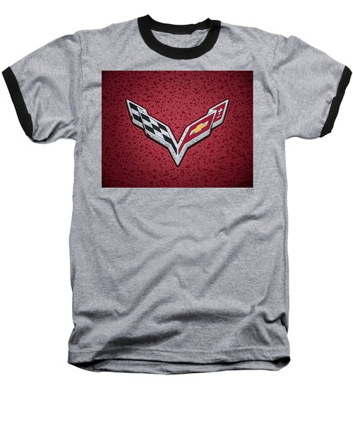 C7 Badge Baseball T-Shirt