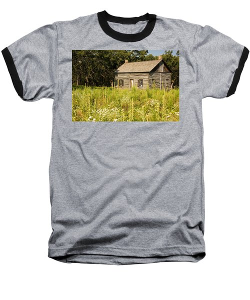 Cabin In The Prairie Baseball T-Shirt