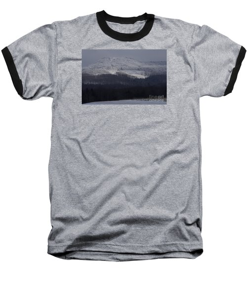 Baseball T-Shirt featuring the photograph Cabin Mountain by Randy Bodkins