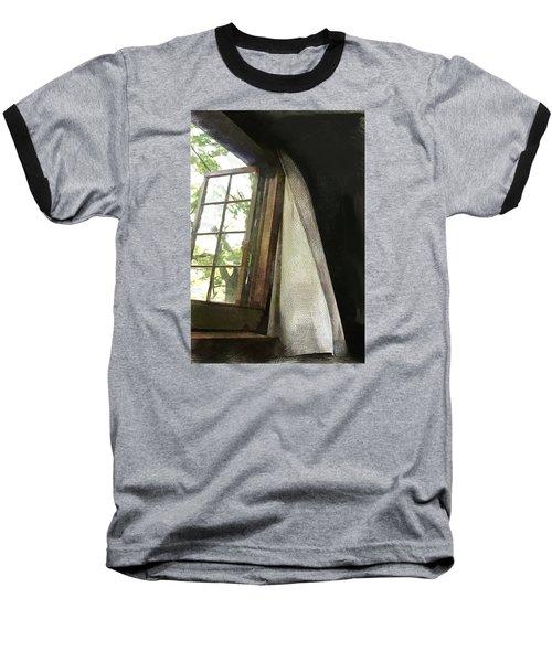 Cabin Window Baseball T-Shirt