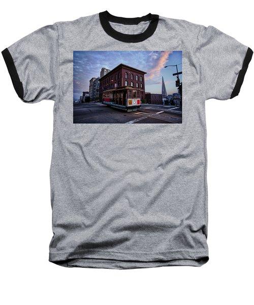 Cable Car Baseball T-Shirt