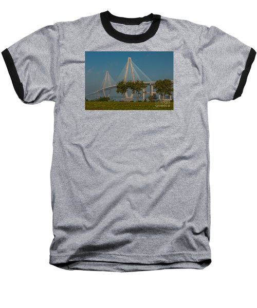 Cable Stayed Bridge Baseball T-Shirt